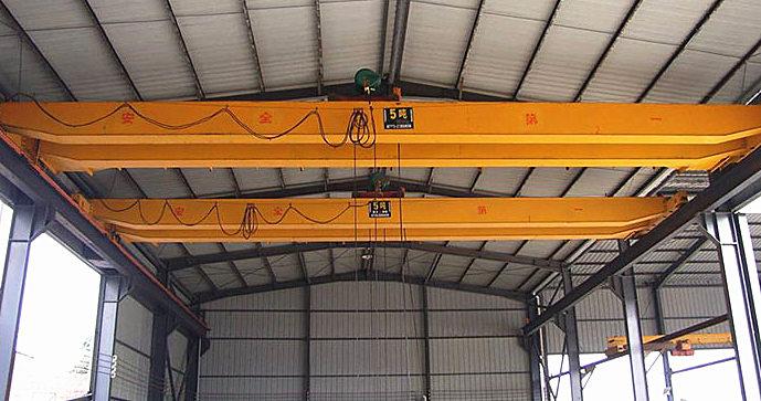 5 ton double girder crane
